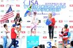 RSA - Simone Robb Gold Medal in Open Women. Credit: ISA/ Michael Tweddle