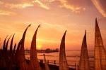 Huanchaco Amazing Sunset. Credit: ISA/ Michael Tweddle