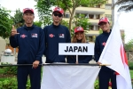 Team Japan. Credit: ISA/ Michael Tweddle
