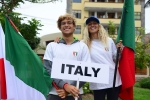 Team Italy. Credit: ISA/ Michael Tweddle