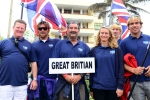 Team Great Britain. Credit: ISA/ Michael Tweddle