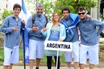 Team Argentina. Credit: ISA/ Michael Tweddle