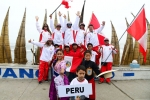 Team Peru. Credit: ISA/ Michael Tweddle
