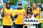 Team Hawaii. Credit: ISA/ Michael Tweddle