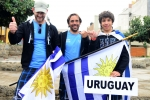 Team Uruguay. Credit: ISA/ Michael Tweddle