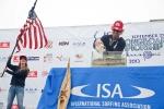 Tony Silvagni and Rachel Tilley  Team Usa. Credit: ISA/ Rommel Gonzales