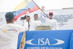 Francisco Hernandez and Ronald Reyes from Team Venezuela. Credit: ISA/ Rommel Gonzales