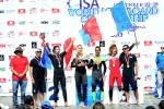 Team France Gold Medal ISA Aloha Cup. Credit: ISA/ Michael Tweddle