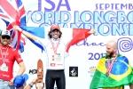 FRA - Antoine Delpero Gold Medal in Open Men. Credit: ISA/ Michael Tweddle