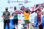 Team Hawaii Bronze Medal 2013 ISA World Longboard Championship. Credit: ISA/ Michael Tweddle