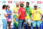 Team Brazil Cooper Medal Aloha Cup. Credit: ISA/ Michael Tweddle