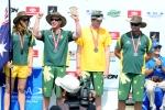 Team Australia Bronze Medal Aloha Cup. Credit: ISA/ Michael Tweddle