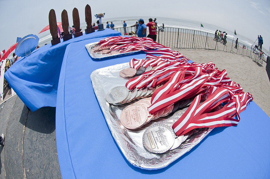ISA Medals. Credit: ISA/ Rommel Gonzales