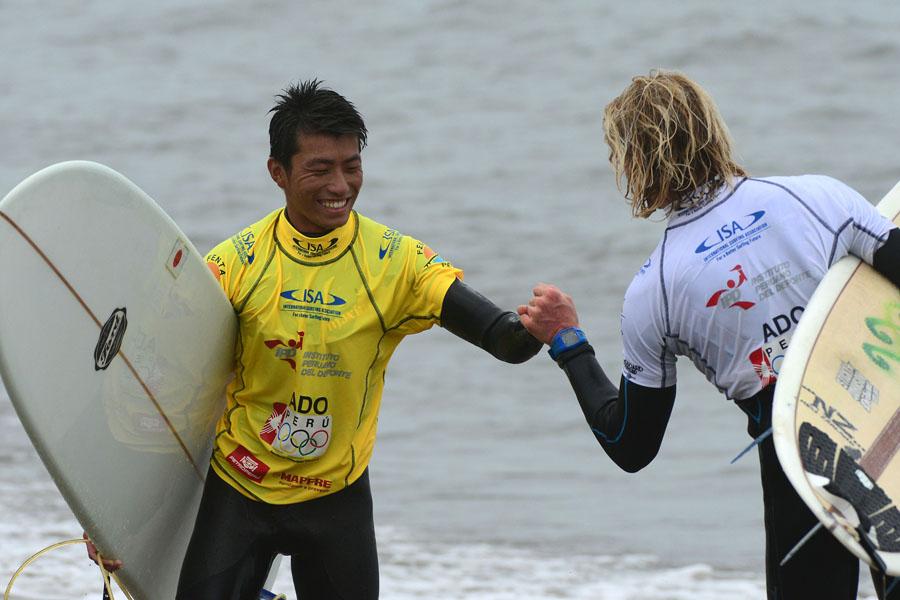 JPN -  Kinihiko Nishizaki. Credit: ISA/ Michael Tweddle
