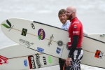 Ben Skinner from Great Britain and Phil Rajzman from Brazil. Credit: ISA/ Michael Tweddle