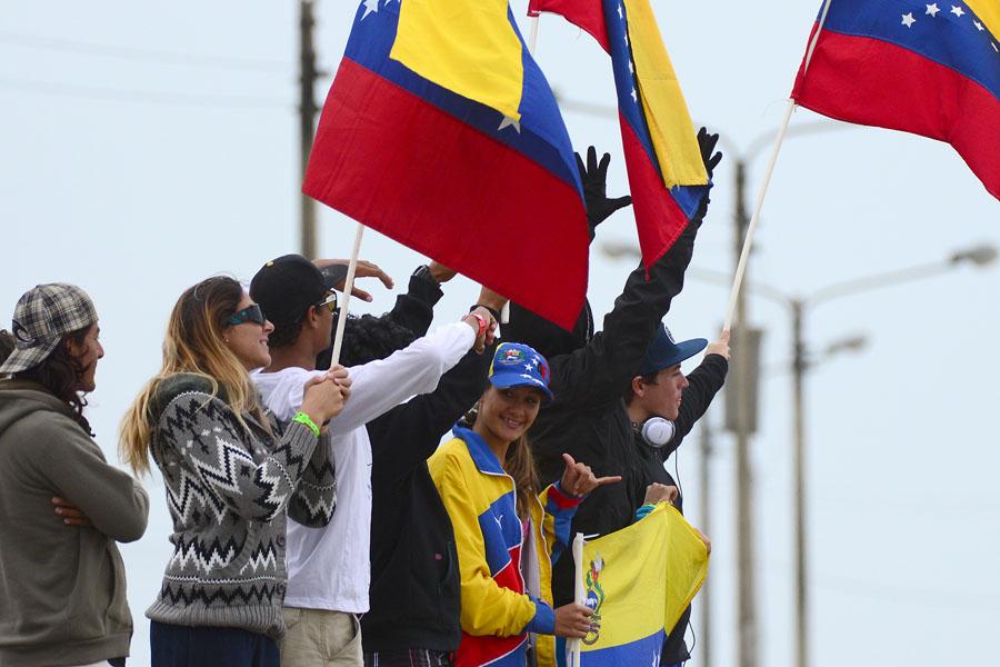 Team Venezuela. Credit: ISA/ Michael Tweddle