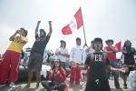 Team Peru. Credit: ISA/ Rommel Gonzalez