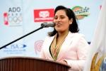 Huanchaco Mayor Delia Mestanza. Credit: ISA/ Michael Tweddle