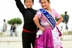 """Suegey Urcia and Carlos Correa performing """"La Marinera Norteña"""" at the Opening Ceremony. Credit:ISA/ Michael Tweddle"""
