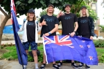 Team New Zealand. Credit: ISA/ Michael Tweddle