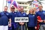 Team Great Britain. Credit: ISA/ Michael Tweddle