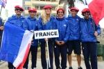 Team France. Credit: ISA/ Michael Tweddle