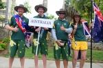 Team Australia. Credit: ISA/ Michael Tweddle