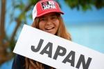 Shiho Okazawa from Team Japan. Credit: ISA/ Michael Tweddle