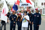 Team Japan. Credit: ISA/ Michael Tweddle