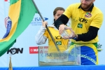 Atalanta Nescimento and Phil Rajzmen from Team Brazil