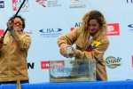Isidro Villao and Michelle Soriano from Team Ecuador. Credit: ISA/ Michael Tweddle