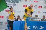 Atalanta Nescimento and Phil Rajzmen from Team Brazil. Credit: ISA/ Rommel Gonzales