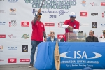 Anthonny Flores and Alex Diaz from Team Costa Rica. Credit: ISA/ Rommel Gonzales