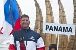 Alan Barnes from Team Panama. Credit: ISA/ Rommel Gonzales