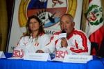 Team Peru Karen Mendiguetti and Ricardo Kaufman. Credit: ISA/ Michael Tweddle