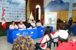 Press Conference Panelist at ISA President Skype call. Credit: ISA/ Michael Tweddle