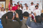 Team Peru and Huanchaco Municipal Manager Enrique Castillo. Credit: ISA/ Rommel Gonzales
