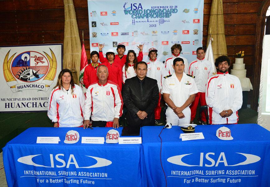 Team Peru. Credit ISA: Michael Tweddle