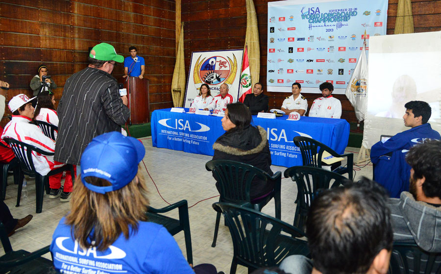 Press Conference Panelist. Credit: ISA/ Michael Tweddle